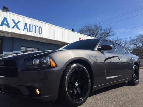 2013 Dodge Charger for sale at Trimax Auto Group in Norfolk VA