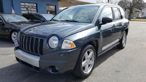 2007 Jeep Compass for sale at Trimax Auto Group in Norfolk VA
