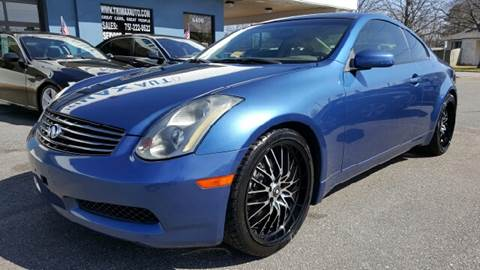 2005 Infiniti G35 for sale at Trimax Auto Group in Norfolk VA