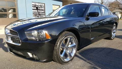 2012 Dodge Charger for sale at Trimax Auto Group in Norfolk VA