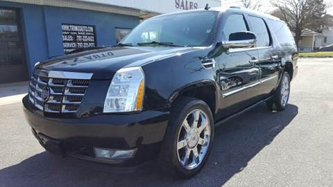 2009 Cadillac Escalade ESV for sale at Trimax Auto Group in Norfolk VA