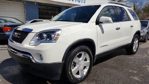 2007 GMC Acadia for sale at Trimax Auto Group in Norfolk VA