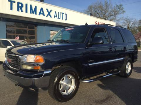 2006 GMC Yukon for sale at Trimax Auto Group in Norfolk VA