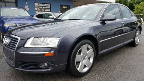 2006 Audi A8 for sale at Trimax Auto Group in Norfolk VA