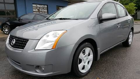 2008 Nissan Sentra for sale at Trimax Auto Group in Norfolk VA