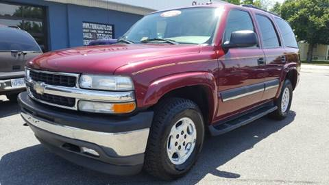 2005 Chevrolet Tahoe for sale at Trimax Auto Group in Norfolk VA
