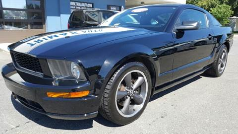 2008 Ford Mustang for sale at Trimax Auto Group in Norfolk VA