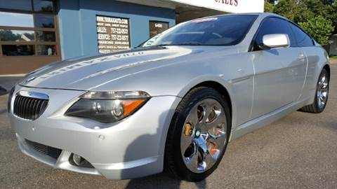 2005 BMW 6 Series for sale at Trimax Auto Group in Norfolk VA