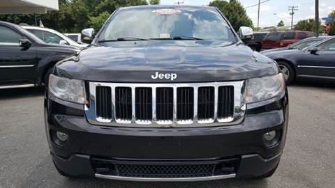 2011 Jeep Grand Cherokee for sale at Trimax Auto Group in Norfolk VA