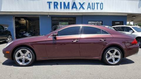 2006 Mercedes-Benz CLS for sale at Trimax Auto Group in Norfolk VA