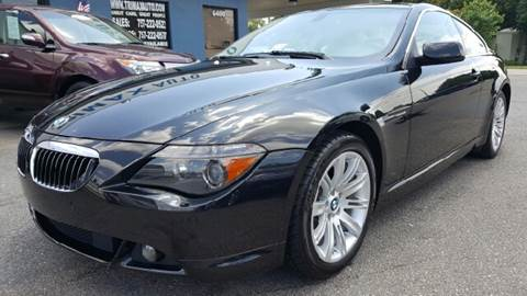 2007 BMW 6 Series for sale at Trimax Auto Group in Norfolk VA