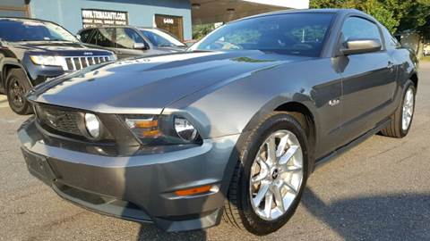 2011 Ford Mustang for sale at Trimax Auto Group in Norfolk VA