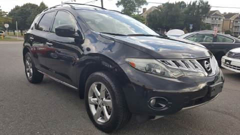 2009 Nissan Murano for sale at Trimax Auto Group in Norfolk VA