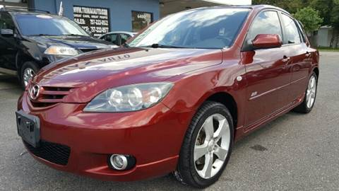 2006 Mazda MAZDA3 for sale at Trimax Auto Group in Norfolk VA