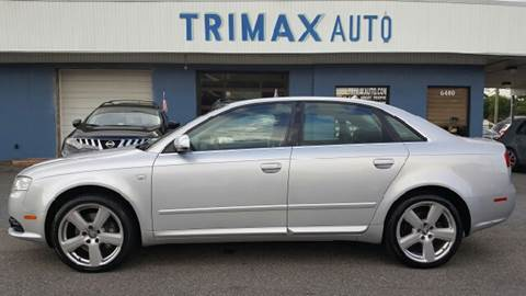 2008 Audi A4 for sale at Trimax Auto Group in Norfolk VA