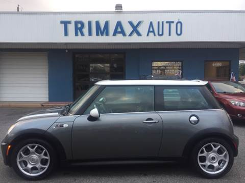 2006 MINI Cooper for sale at Trimax Auto Group in Norfolk VA