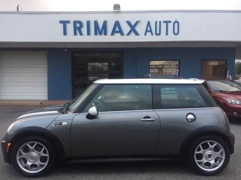 2006 MINI Cooper for sale at Trimax Auto Group in Norfolk VA