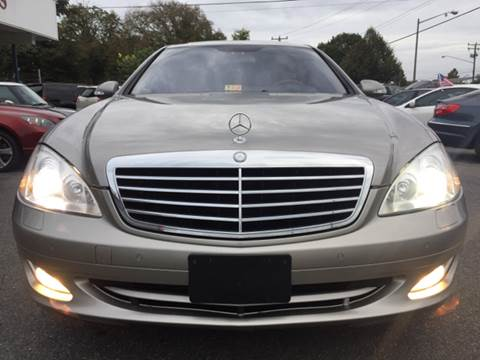 2007 Mercedes-Benz S-Class for sale at Trimax Auto Group in Norfolk VA