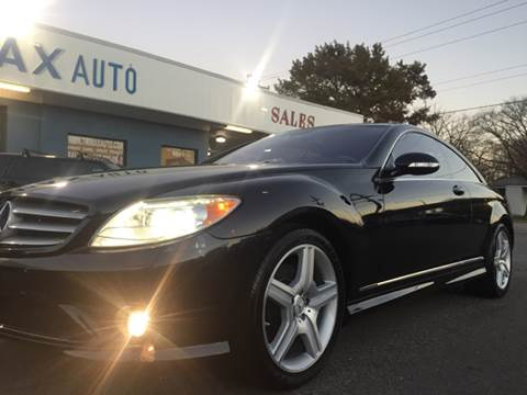 2008 Mercedes-Benz CL-Class for sale at Trimax Auto Group in Norfolk VA