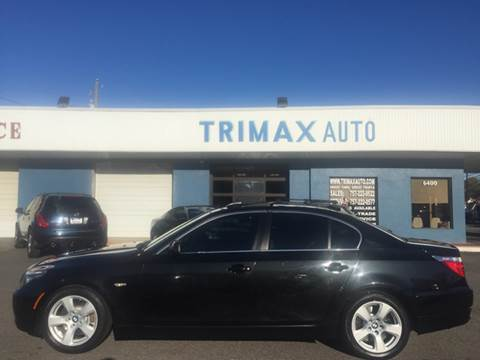 2008 BMW 5 Series for sale at Trimax Auto Group in Norfolk VA