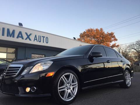 2010 Mercedes-Benz E-Class for sale at Trimax Auto Group in Norfolk VA