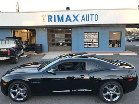 2013 Chevrolet Camaro for sale at Trimax Auto Group in Norfolk VA