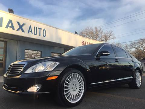 2008 Mercedes-Benz S-Class for sale at Trimax Auto Group in Norfolk VA