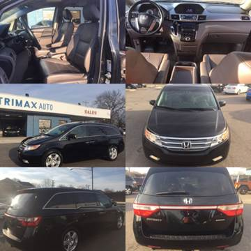 2012 Honda Odyssey for sale at Trimax Auto Group in Norfolk VA