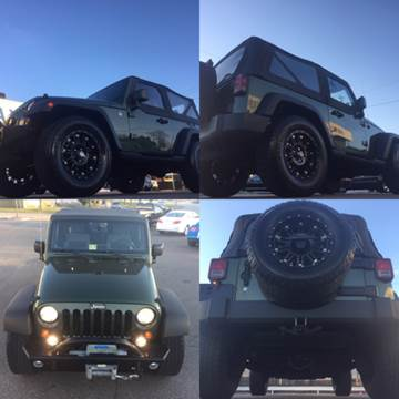 2008 Jeep Wrangler for sale at Trimax Auto Group in Norfolk VA
