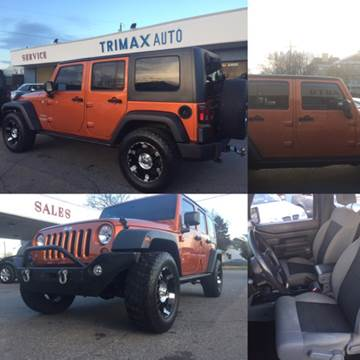 2010 Jeep Wrangler Unlimited for sale at Trimax Auto Group in Norfolk VA