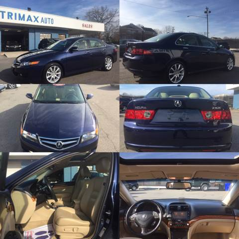 2008 Acura TSX for sale at Trimax Auto Group in Norfolk VA