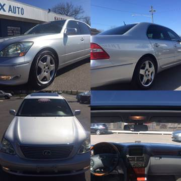 2005 Lexus LS 430 for sale at Trimax Auto Group in Norfolk VA