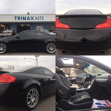 2006 Infiniti G35 for sale at Trimax Auto Group in Norfolk VA