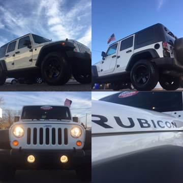 2007 Jeep Wrangler Unlimited for sale at Trimax Auto Group in Norfolk VA