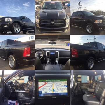 2011 RAM Ram Pickup 1500 for sale at Trimax Auto Group in Norfolk VA