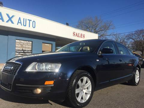2005 Audi A6 for sale at Trimax Auto Group in Norfolk VA