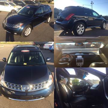 2007 Nissan Murano for sale at Trimax Auto Group in Norfolk VA