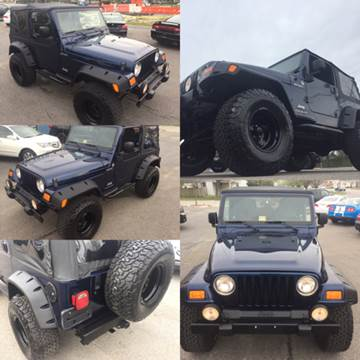 2005 Jeep Wrangler for sale at Trimax Auto Group in Norfolk VA