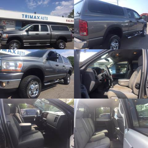2006 Dodge Ram Pickup 2500 for sale at Trimax Auto Group in Norfolk VA