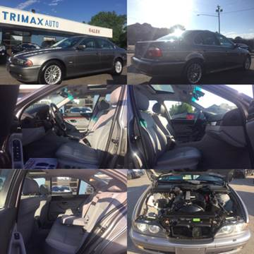 2003 BMW 5 Series for sale at Trimax Auto Group in Norfolk VA