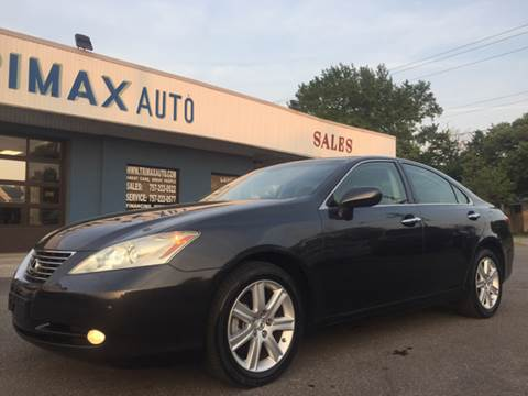 2008 Lexus ES 350 for sale at Trimax Auto Group in Norfolk VA
