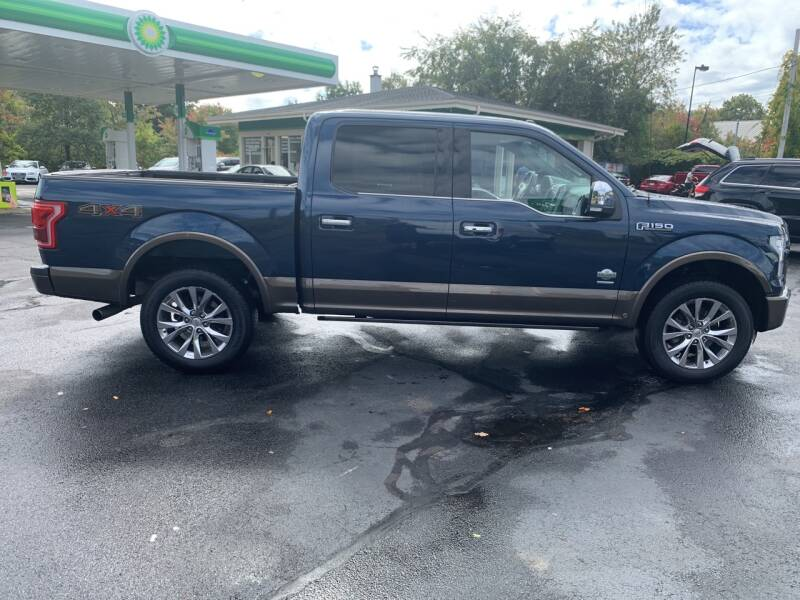 2016 Ford F-150 4x4 King Ranch 4dr SuperCrew 5.5 ft. SB - North Andover MA