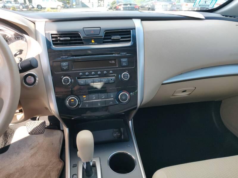 2015 Nissan Altima 2.5 S 4dr Sedan - North Andover MA