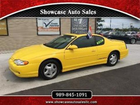 2002 Chevrolet Monte Carlo for sale in Chesaning, MI