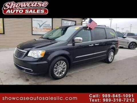 2013 Chrysler Town and Country Touring-L for sale at SHOWCASE AUTO SALES LLC in Chesaning MI