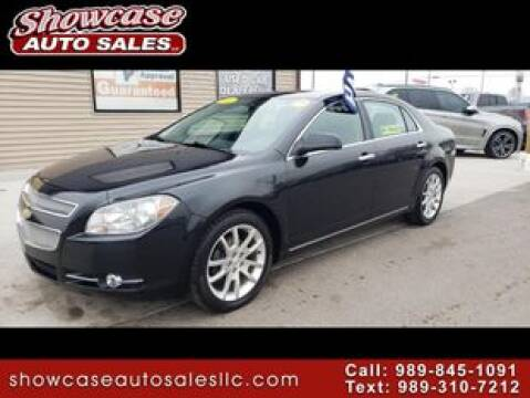 2011 Chevrolet Malibu LTZ for sale at SHOWCASE AUTO SALES LLC in Chesaning MI