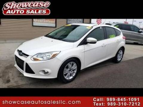 2012 Ford Focus SEL for sale at SHOWCASE AUTO SALES LLC in Chesaning MI