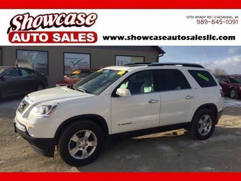 2008 GMC Acadia for sale in Chesaning, MI