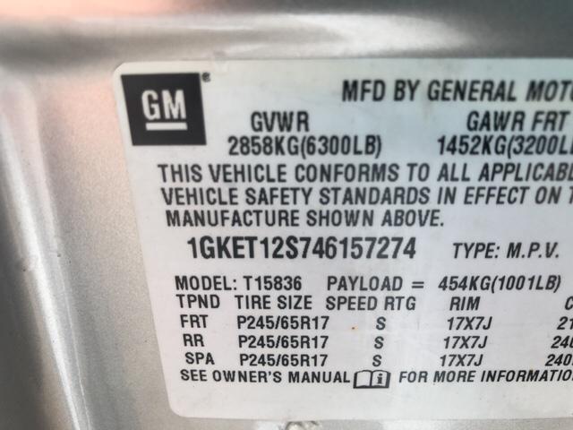 2004 gmc envoy xuv manual