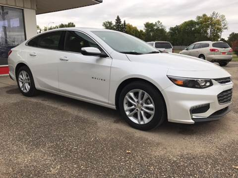 2017 Chevrolet Malibu for sale in Rugby, ND